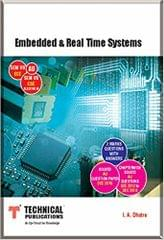 Embedded and Real Time Systems for AU (SEM-VII ECE SEM-VII CSE ELECTIVE-III Course-2013)