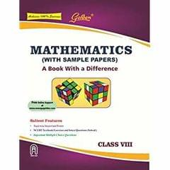 Golden Mathematics: (With Sample Papers) A book with a Difference for Class8 (For 2019 Final Exams)