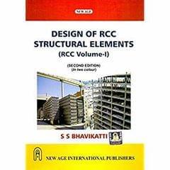 Design of R.C.C. Structural Elements  Vol. I