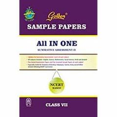 Golden Sample Paper All in One (NCERT Based) for Class  VII