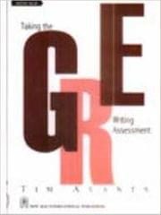 Taking the GRE Writing Assessment