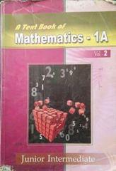 A text Book of Mathamatics 1A