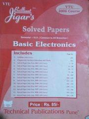 Solved Papers Basic Electronics