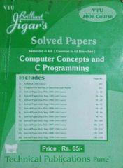 Solved papers Computer Concepts And C Programming