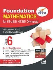 Foundation Mathematics for IIT-JEE/ NTSE/ Olympiad Class 6