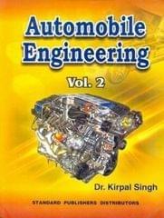 Automobile Engineering (Volume - 2) 12th Edition