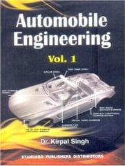 Automobile Engineering Vol 1 13th Edition