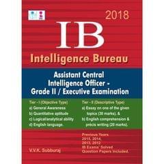 IB (Intelligence Bureau ) Assistant Central Intelligence Officer Grade II Executive Exam Books 2017