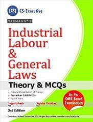 Industrial Labour And General Laws(Theory & Mcqs )