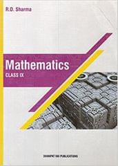 Mathematics for Class 9 by R D Sharma (2018-19 Session)