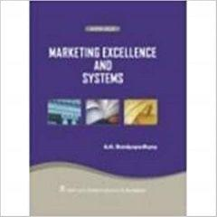 Marketing Excellence and Systems