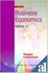 Business Economics VolumeI