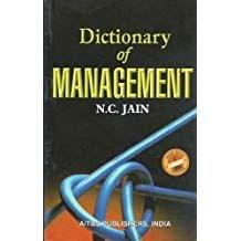 Dictionary  Of Management