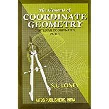 The Elements Of Co-Ordinate Geometry