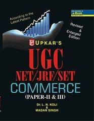 Ugc Net/Jrf/Et Commerce Paer Ii & Iii