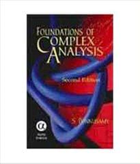 Foundations Of Complex Analysis Ed.2