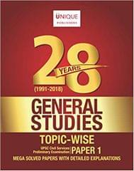 28 Years General Studies Topic Wise  Paper - 1