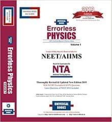 Errorless Physics Vol.1 & 2 - 2019 Ed.