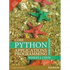 Core Python Prog. Ed.3