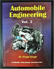 Automobile Engg. Vol.2- Ed.13