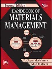 Handbook Of Materials Management 2Ed