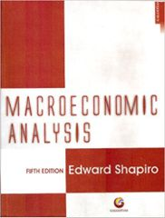 Macroeconomic Analysis Ed.5
