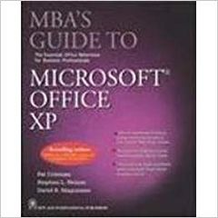 MBA's Guide to Microsoft Office XP