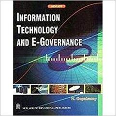 Information Technology and EGovernance