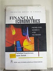 Financial Econometrics Problems, Models and Methods