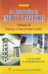 An Introduction to Energy Conversion  Energy Conversion Cycles Vol. II