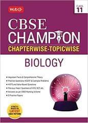 CBSE Champion ChapterwiseTopicwise  Biology Class 11