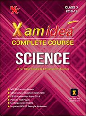 Xam Idea Complete Course Science Class 10 for 2019 Exam