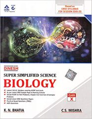 Super Simplified Science Biology for class 10 (2019-2020 Examination)