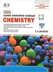 Dinesh Super Simplified Science Chemistry Class 9 (for 2019 Examination)  (ENGLISH, Paperback, S.K.Malhotra)