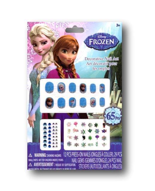 Frozen Decorative Nail Art