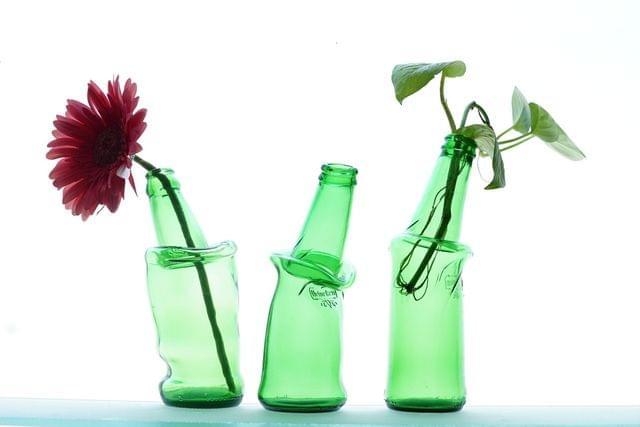 Drunken Bottle Vase - Set of 3