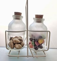 Handy Bottle FROSTED 100ml with Stand