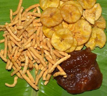 Thirunelveli Halwa+ Sattur Sevu+ Nagercoil chips