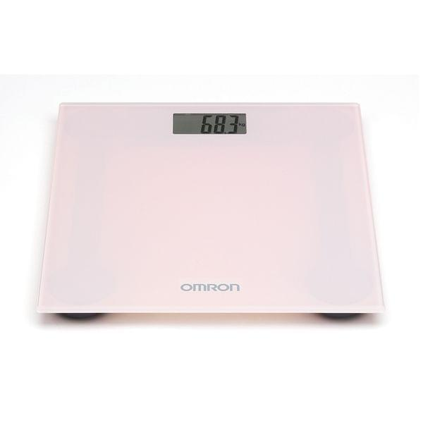 OMRON | Digital Personal Scale Pink Blossom | Pink | 1650 | HN- 289