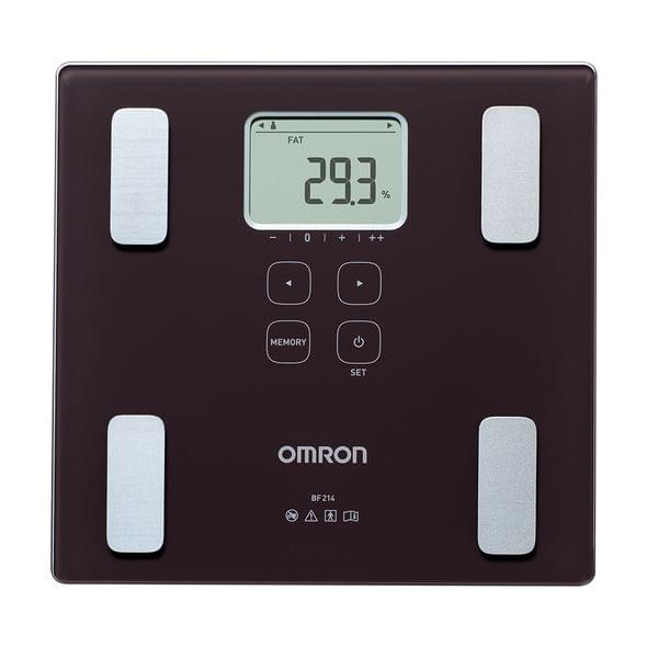 OMRON | Body Composition Monitor | 1990g | Black | BF 214