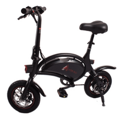 FOR ALL | FOLDABLE E-SCOOTER | DOLPHIN | Power Engine | 250W | 20Km/h | Black