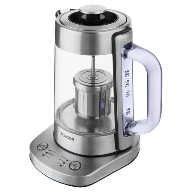 SENCOR | Intelligent Water Kettle | 1.5L | Silver | SWK 1590SS