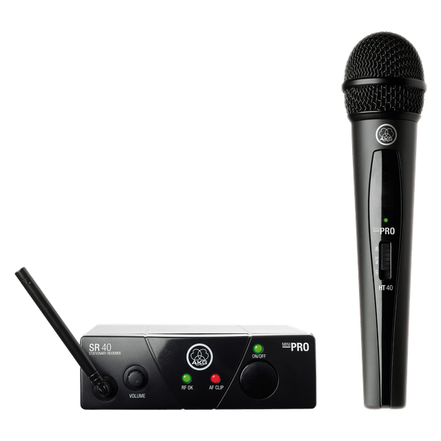 AKG | Plug & Play Wireless Microphone | Minivocal Set | WMS40