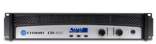 CROWN | Two Channel | Power Amplifier | CDI 1000