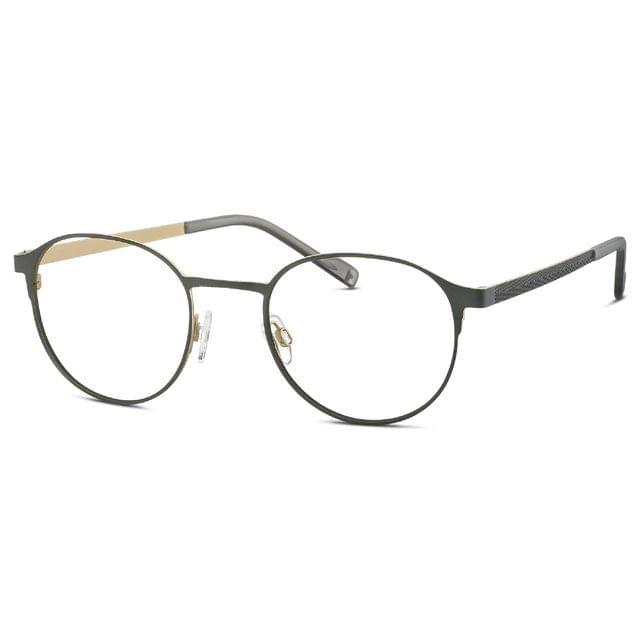 TITANFLEX   Men's glasses   Titanium made with case   Round   820833/30