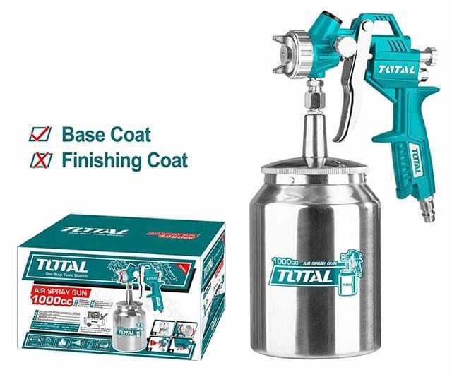 TOTAL | Air spray gun | 1000cc | TAT11001