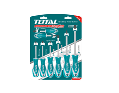 TOTAL | Screwdriver Set | 8 Pcs | CR-V | THT250608