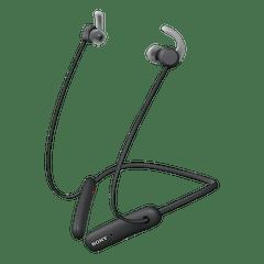 SONY   Wireless In-ear Sports Earphone with Extra Bass   Black   WI-SP510