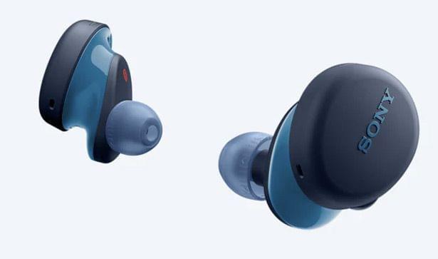 SONY | Truly Wireless earbuds With Extra Bass | Blue | WF-XB700