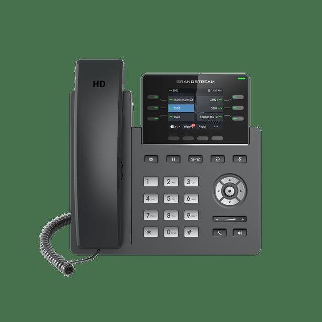 GRANDSTREAM   3-line Carrier-Grade IP Phone   BLF keys   GRP2613